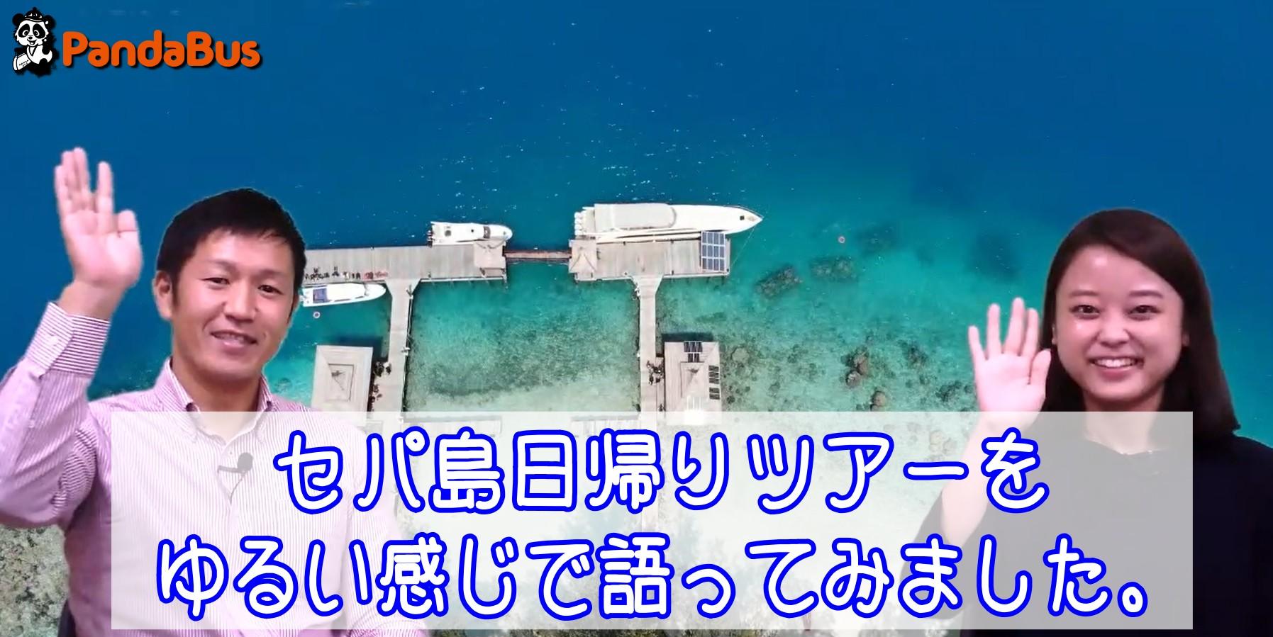 セパ島パンダバス特別催行ご紹介