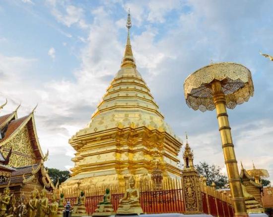 【次の催行をお楽しみに♪】チェンマイ・ドイステープ寺院&チェンマイ市内観光 日帰りの旅!