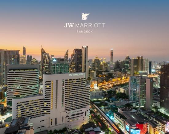 【タイ在住者プロモーション】マリオット直系で最上級ブランド!JW マリオット1泊2日