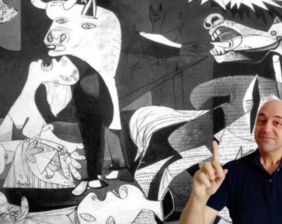 【スペイン】西洋美術公認ガイドが徹底解説!ソフィア王妃美術館オンライン講座<ピカソの代表作「ゲルニカ」/日本語ガイド/土曜19時限定>