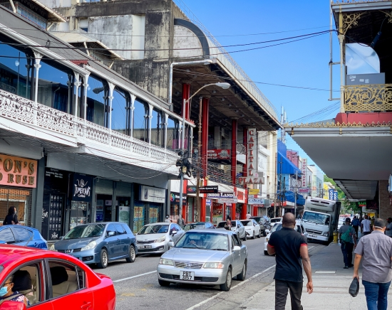 【トリニダード・トバゴ】首都ポートオブスペイン朝の市街観光オンラインツアー<日本語/Zoom利用>