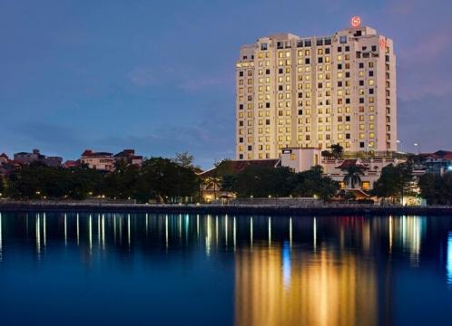【ハノイ】テト旧正月も同一料金!特典盛りだくさん!世界最高級ブランドホテル 「シェラトン・ハノイ ホテル」1泊2日