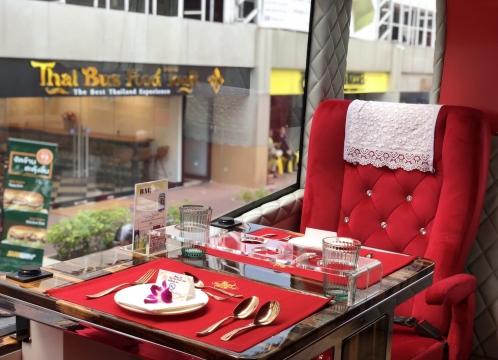 ミシュラングルメのセットメニュー付き!2階建てバスで巡るバンコク旧市街・タイバスフードツアー<英語ガイド・ベテラン日本語ガイド選択可>