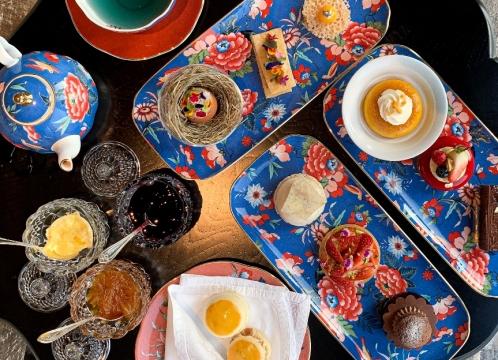 NEW五つ星ホテル カペラ・バンコク 「Tea Lounge (ティーラウンジ)」 アフタヌーンティー <ミールクーポン>