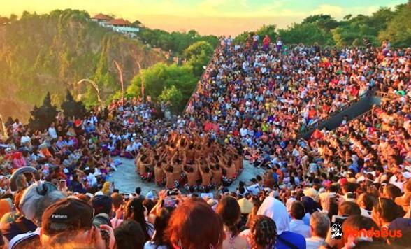 【バリ島】ウブド観光とウルワツ寺院絶景サンセットとケチャックダンス(選べる夕食)・バロンダンスとケチャックダンスの2大舞踊を網羅!
