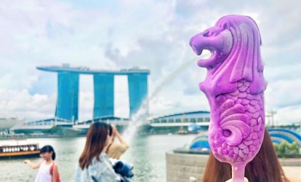 シンガポール1日観光デラックス マーライオンと世界遺産巡り トライショーで散策付き<ベテランガイド指名/空港送迎付き選択可>
