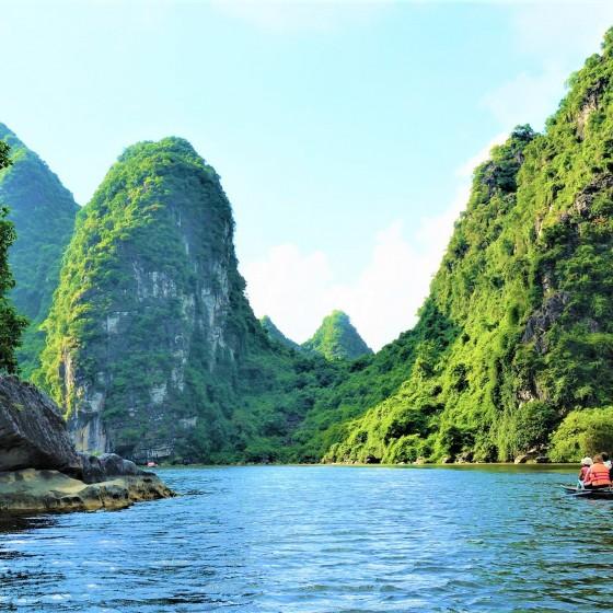 チャンアン川下り
