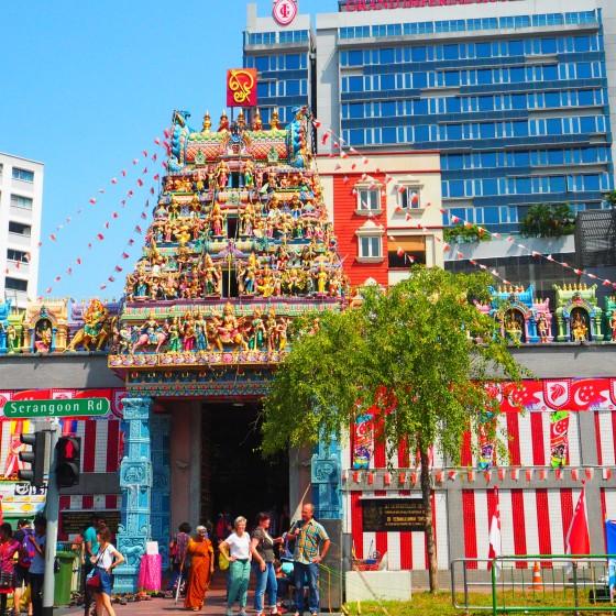 チャイナタウン寺院