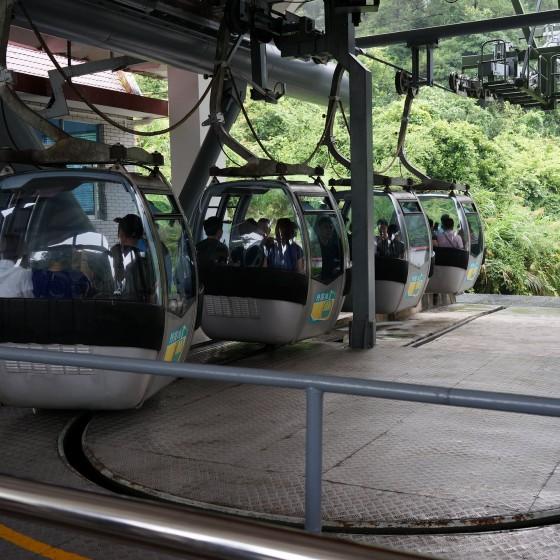 丹霞山 ケーブルカー イメージ