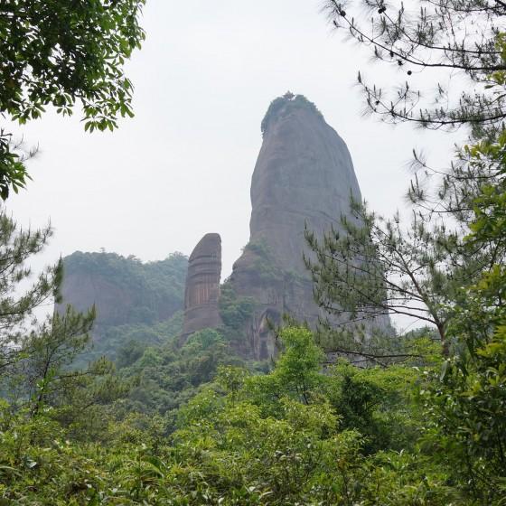丹霞山 陽元岩 イメージ