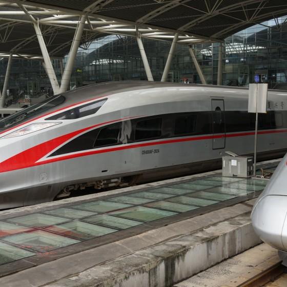 イメージ:高速鉄道列車