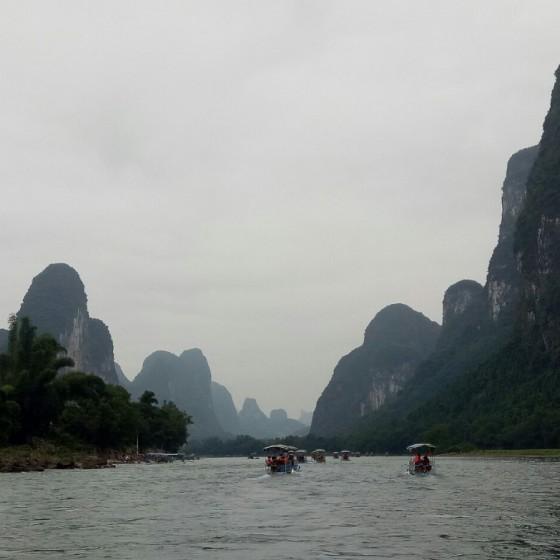 桂林漓江下り イメージ