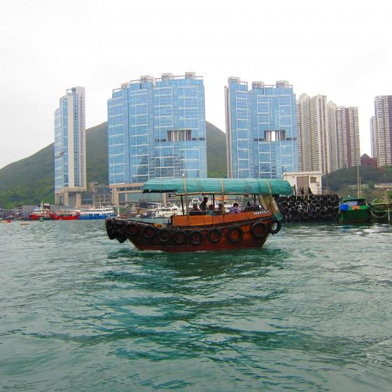 観光イメージ:アバディーンとサンパン船