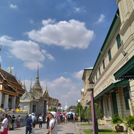 ラマ5世建立の「王宮」