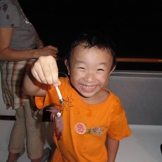 イカ釣りイメージ