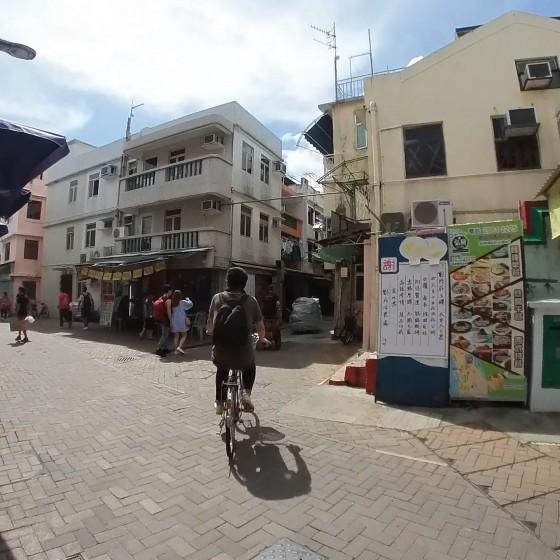 長洲 Cheung Chau 市街地 イメージ