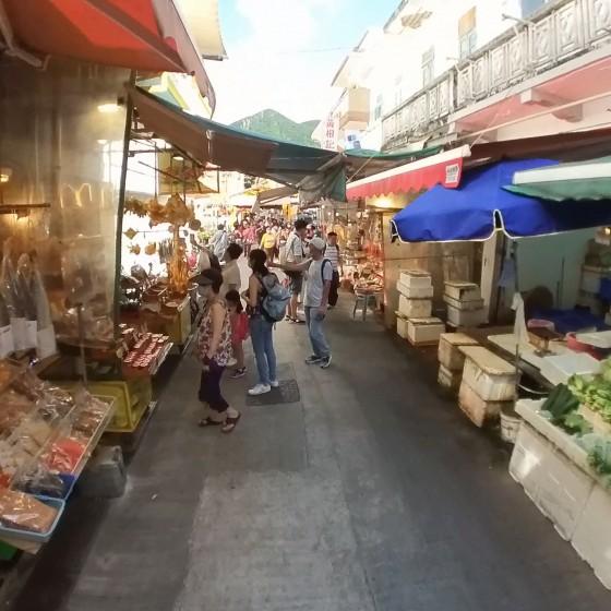 大澳 Tai O 乾物や野菜や果物を売る店 イメージ