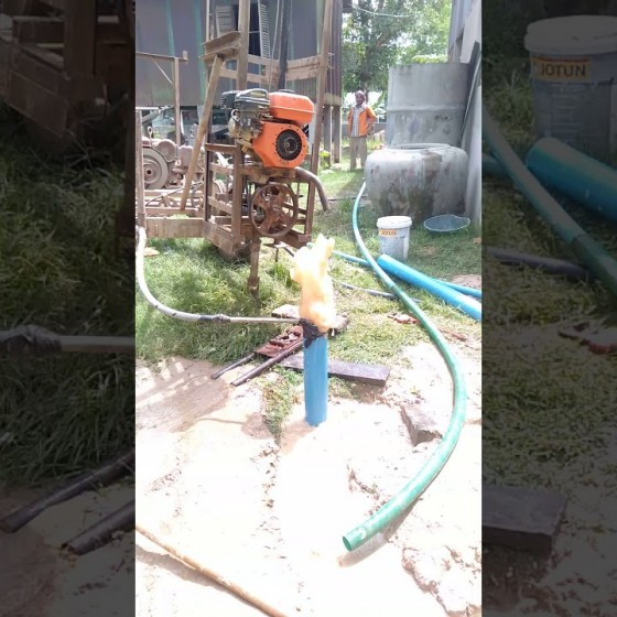井戸掘り体験