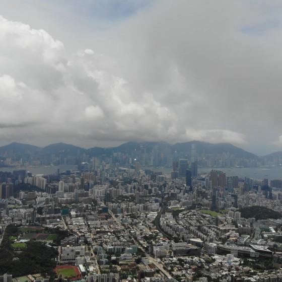 ライオンロックからの香港の眺望 イメージ