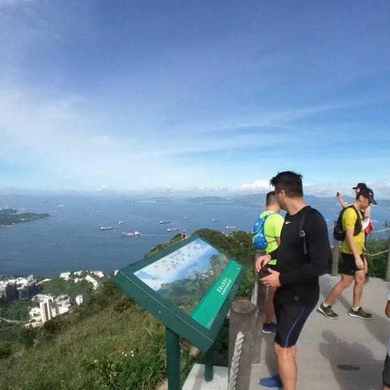 西高山(ハイウェストピーク)頂上の展望台と眺め イメージ