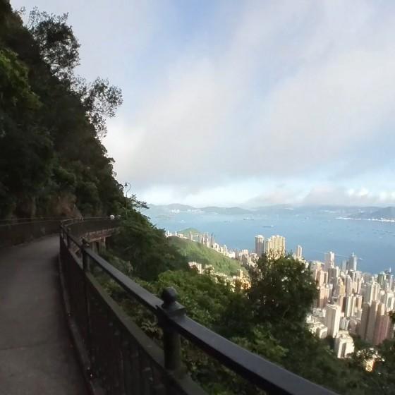 ルガードロード(盧吉道)からの眺め イメージ