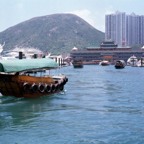 観光イメージ:サンパン船