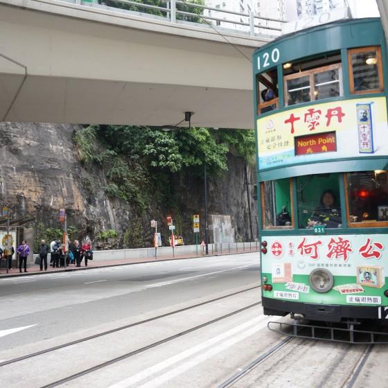 観光イメージ:2階建てトラム