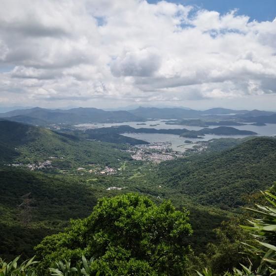 カオルーンピーク(飛鵝山) からの眺め サンプル
