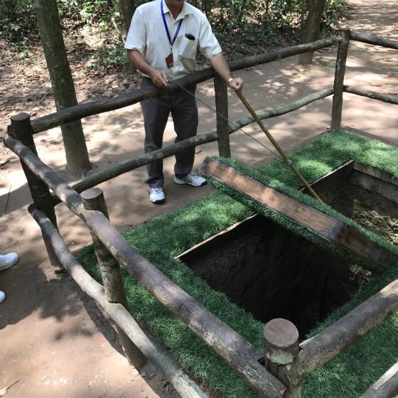 クチトンネル 観光