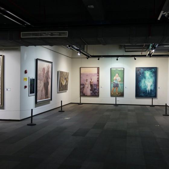 世界最大界規模の芸術村 大芬(ダーファン)油画村にある美術館 イメージ