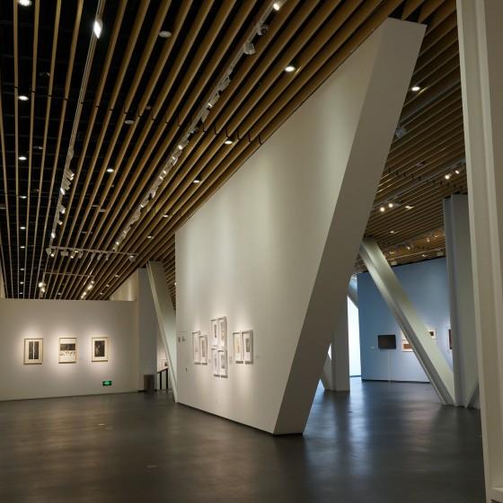 中国国立版画博物館 ~ 巨大なスペースに、世界の一流と言われる版画が贅沢に展示されています