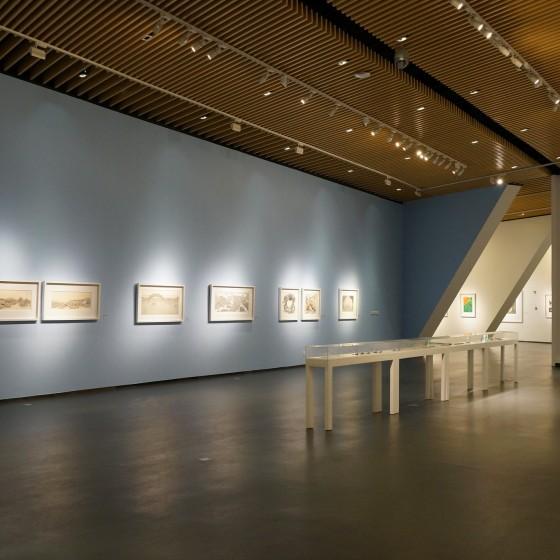 中国国立版画博物館 外観 イメージ ~ 世界の一流の版画が定期的に入れ替わり展示されています
