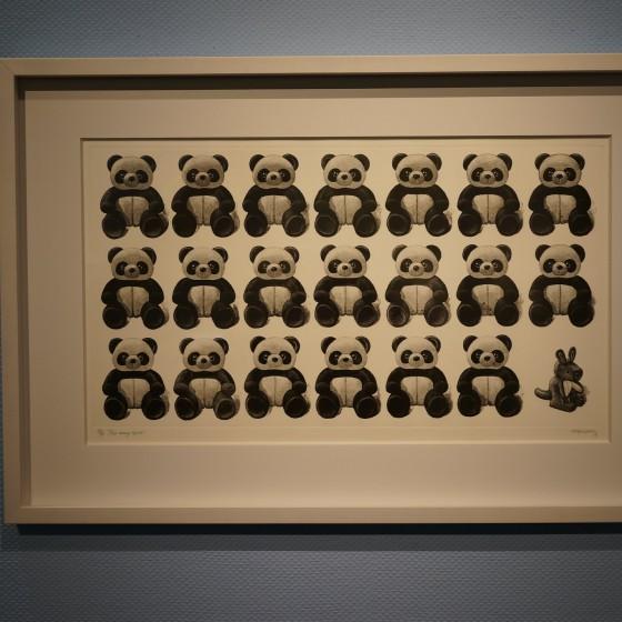 中国国立版画博物館 外観 イメージ ~ 展示されている作品例 イメージ