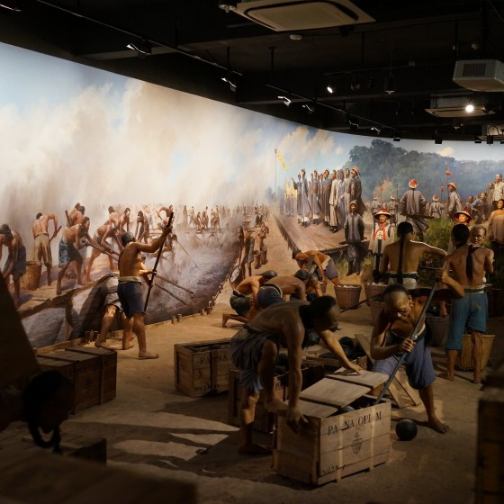虎門アヘン戦争博物館(林則徐記念館) 館内 展示物 イメージ