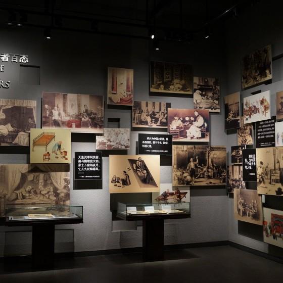 虎門アヘン戦争博物館(林則徐記念館) 館内の一角 イメ―ジ
