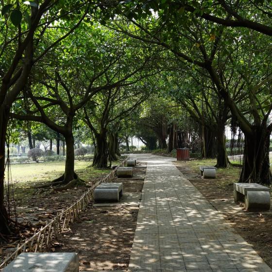 虎門 海戦博物館 遊歩道 イメージ