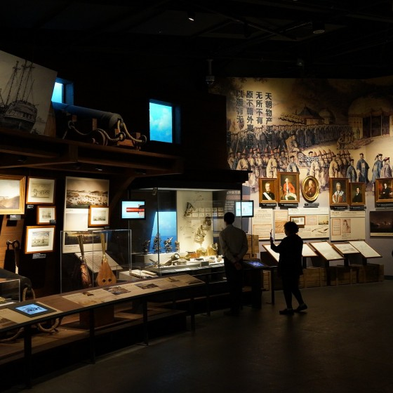 虎門 海戦博物館 館内の展示物 イメージ
