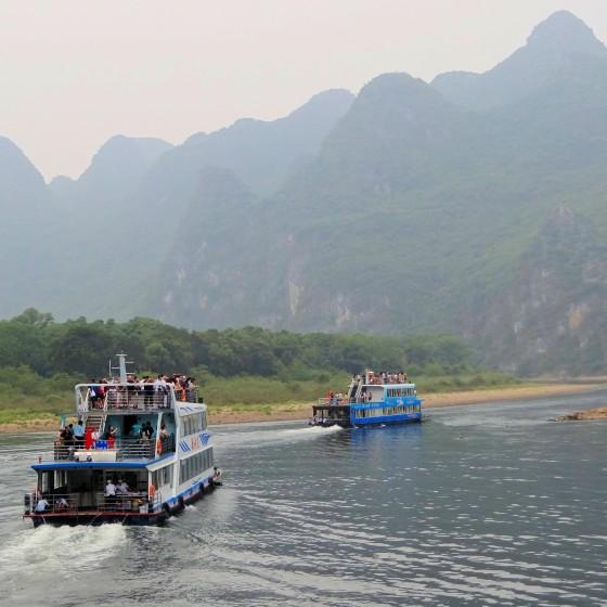 桂林 漓江 イメ―ジ