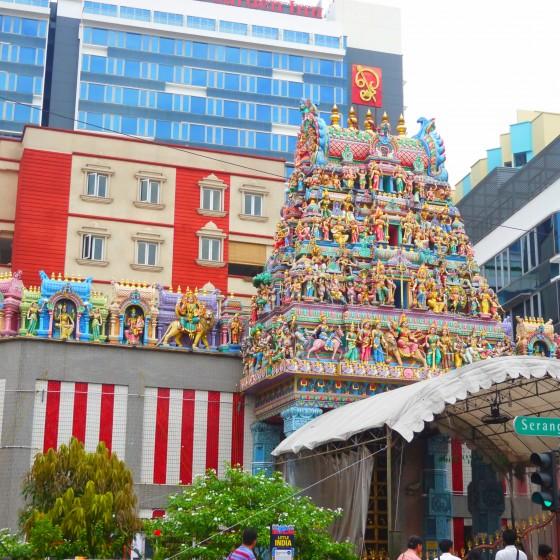 リトルインディア・ヒンドゥー教寺院