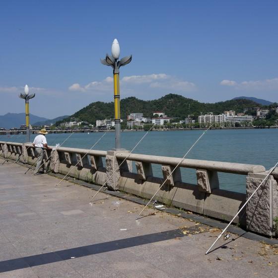 潮州 広済橋に臨む遊歩道 イメージ