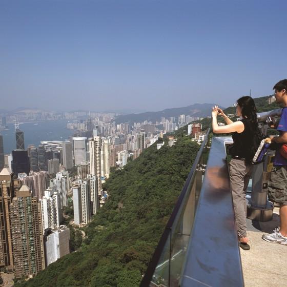 観光イメージ:ピークタワー