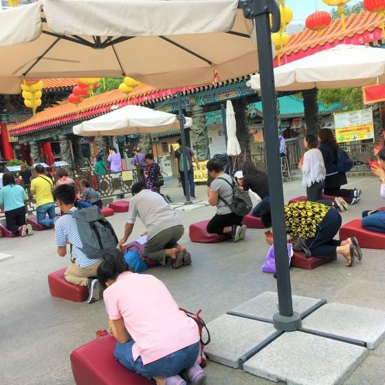 観光イメージ:黄大仙(ウィンタイシン)