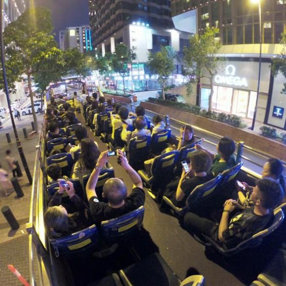 パンダバスの元祖オープントップバス
