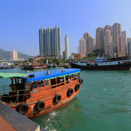 観光イメージ:アバディーン サンパン船
