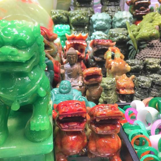 香港 翡翠市場 イメージ