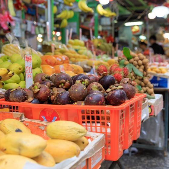 香港 ウェットマーケット イメージ