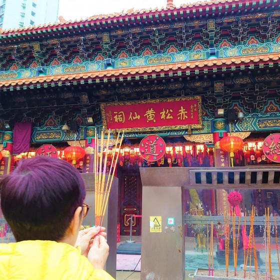 香港 ウォンタイシン お祈り イメージ
