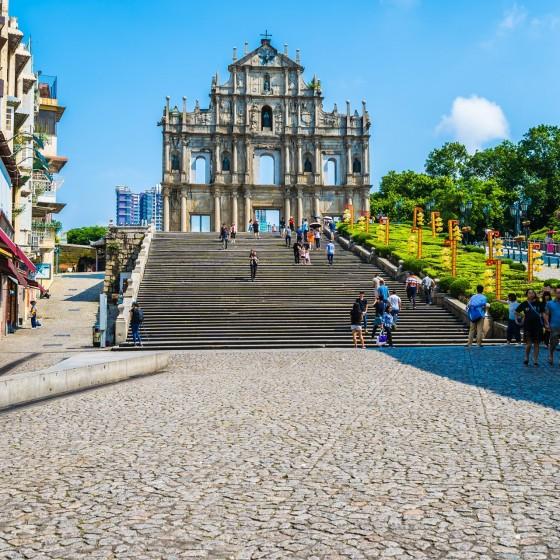観光イメージ:聖ポール天主堂跡