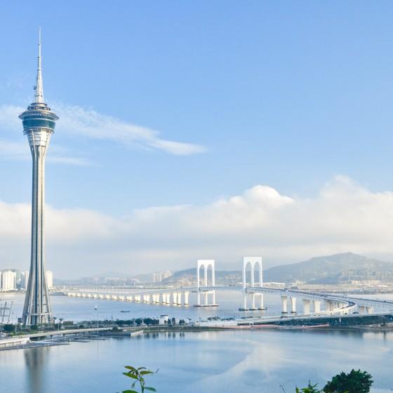 観光イメージ:マカオタワー