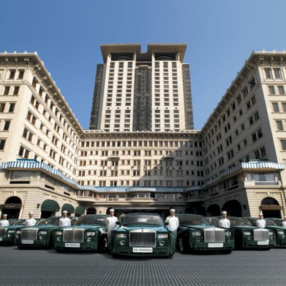香港 ペニンシュラホテル イメージ